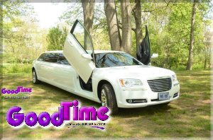 10 Passenger Chrysler 300 Stretch Limousine HOME