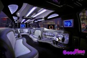 14 Passenger Cadillac Escalade SUV Stretch Limousine Interior 300x200 14 Passenger Cadillac Escalade SUV Stretch Limousine Interior