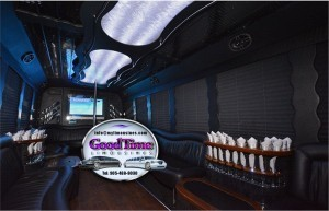 30 Passenger Limo Party Bus Int 2 300x193 30 Passenger Limo Party Bus Int 2