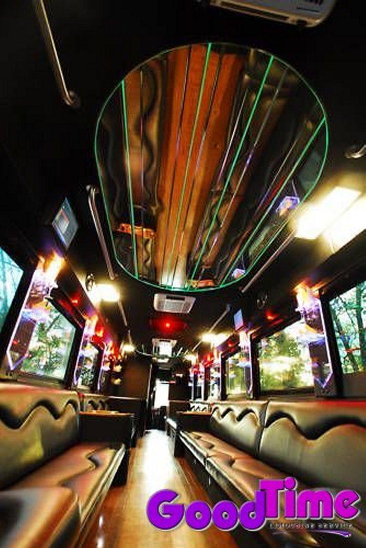 45 passenger party bus int 4 2 TORONTO LIMO RENTAL FLEET
