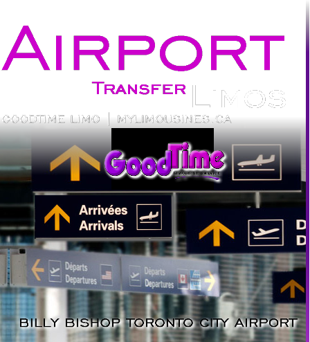 Billy Bishop Toronto City Airport Limo Rental Service BILLY BISHOP TORONTO CITY AIRPORT LIMO SERVICE