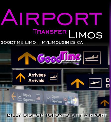 Billy Bishop Toronto City Airport Limo Rental Service BILLY BISHOP TORONTO CITY AIRPORT LIMO SERVICE