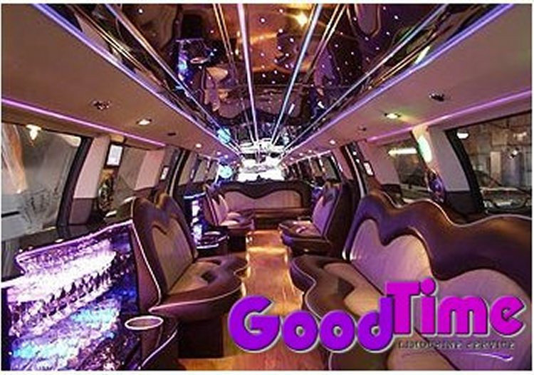 Ford F650 Stretch SUV Limo 30 Passenger Hummer Killer Interior TORONTO LIMO RENTAL FLEET