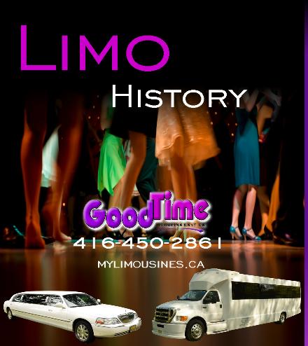 Limo Rental History LIMO RENTALS HISTORY