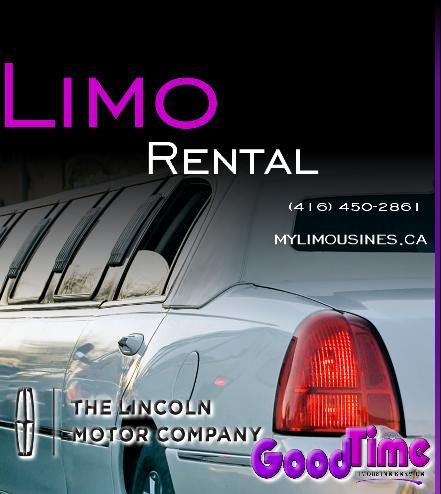 Limousine Rental Service CANADA ONTARIO BRAMPTON LIMOUSINES