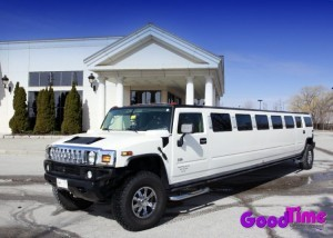SUV Hummer Limousine With TVs Strobes Rear Control Panel 300x214 SUV Hummer Limousine With TVs Strobes Rear Control Panel