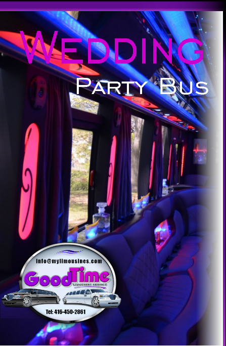 Vaughan Wedding Party Bus Limo Rental Services VAUGHAN WEDDING LIMOS