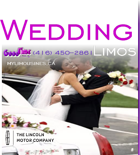 Wedding Limos for Rent PICKERING WEDDING LIMO