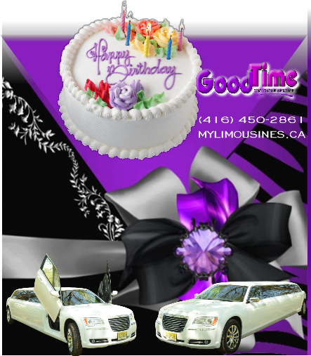 birthday party limo rental service BIRTHDAY PARTY LIMO ONTARIO