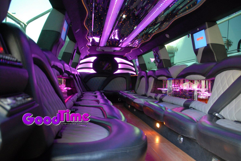 cadillac escalade suv stretch limo 22 passenger interior 2 1 TORONTO LIMO RENTAL FLEET