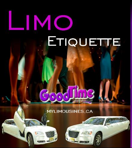 limo etiquette LIMO RENTAL ETIQUETTE